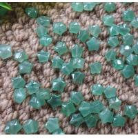 China Natural Stone green aventurine star beads Fit for bracelet necklace by original factory with wholesale price on sale