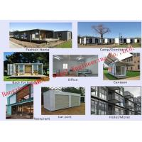Buy Modern Environmental Foldable Prefab Container House Multi-functional Mobile House Easy Assemble at wholesale prices