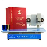 Buy hot sale 300*250mm size plateless hot foil stamping machine 3025 digital foil at wholesale prices