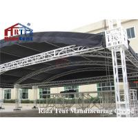 Quality Portable Aluminum Stage Light Truss , Circle Roof Truss For Concert Event for sale