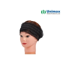 Quality Disposable Spa Make up Non-woven Elastic Hairbands Hairties for sale