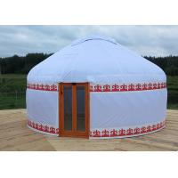 China Outdoor Waterproof Mongolian Inflatable Camping Dome / Inflatable Yurt Tent wholesale