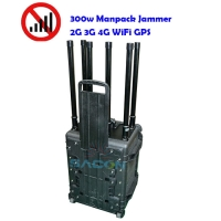 Quality 8 Bands Portable Luggage Vehicle Mounted Jammer Military Standard Casing 50w Each Band for sale