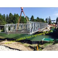 Quality Prefabricated Modular Steel Bailey Bridge Assembled by China Manufacturing Supplier for sale