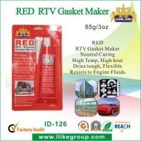 Quality Silicone Air Proof RED RTV Gasket Maker , Waterproof And Heat Resistant for sale