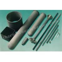 China Thermocouple Components Nitride Bonded Silicon Carbide NSiC Thermocouple Protection Tube on sale