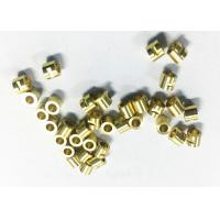 Quality Connector Tube CNC Machining Brass Parts , Small Cnc Machined Components for sale