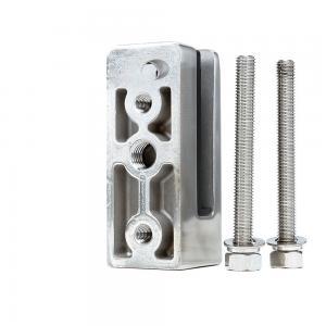 Quality Wholesale Custom Frameless Glass Railing Stainless Steel Glass Pool Fence Spigot for sale