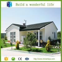 Quality china concrete prefabricated aluminium structure house price in algeria for sale