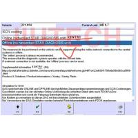 Quality Offline SCN Coding Opening Service for Benz Star Software for sale