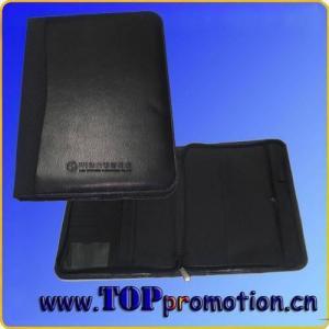 China B5 zippered portfolio on sale