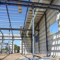 Quality Prefabricated Steel Structure for Industrial Application with strong strength for sale