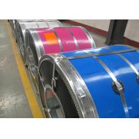 Quality HDGI PPGI PPGL Color Coated Galvanized Steel Coil , Zinc Coating Colour Coated Steel Coils for sale
