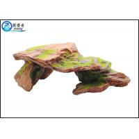 Customized Polyresin Fish Aquarium Craft Moss Rock Aquarium Ornaments