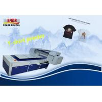 China High Performance A3 Digital Tee Shirt Printing Machine With 1800 Dpi Eight Color on sale