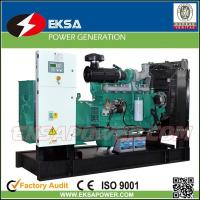 Quality Hot-selling 250Kva CUMMINS diesel power generator set open types with fuel tank for sale