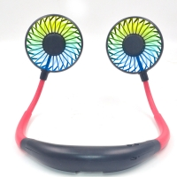 Quality Rechargeable 5200mAh Portable Neck Fan Personal Hands Free 8.5hr for sale
