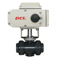 Quality Modulating CSA 200Nm PVC Water Flow Control Valve for sale