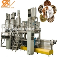 Quality multi energy multi power protect environmental pet food extruder machine for sale