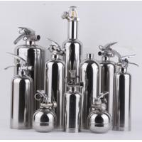 Quality 6kg Stainless Steel Fire Extinguisher , Portable Dry Chemical Fire Extinguisher for sale