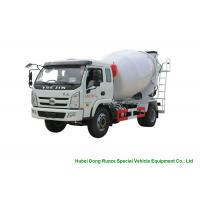 Quality YUEJIN 5m3 Small Concrete Mixer Truck With Pump , 4x2 Mobile Mixer Truck for sale