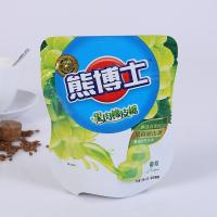 Quality Resealable Biodegradable Stand Up Plastic Bags , Custom Printed Heat Seal Food Bags for sale