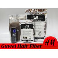 Quality 2nd Generation Microfiber Hair Thickener Keratin Hair Fibers Private Label for sale