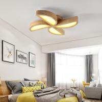 Quality Calypso wood ceiling lamp Fixtures For indoor home Ceiling Decoaration (WH-WA-06) for sale