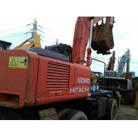 Used Wheel Excavator/Digger For Sale,Cheap Price EX160 Wheel Excavator,Japanese Original EX160 Wheel Digger