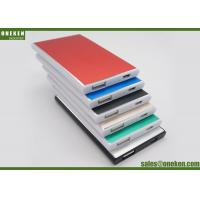 Metal Surface Ultra Slim Power Bank USB Universal 2000mAh For Mobile Phones