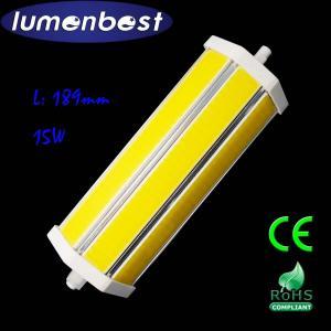 R7S LED R7S BULB COB Aluminum+Plastic 15W 189mm(189mm*54mm)
