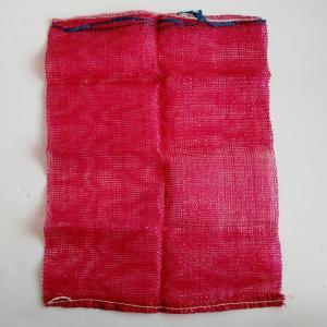 Flexible Red Heavy Duty Mesh Bag , 100% Virgin PP Mesh Packing Bags