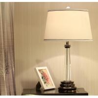 Quality Crystal column table lamp for home for sale