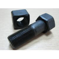 Quality OEM High Strength 40Cr Track Shoe Bolt used in Railway , Truck for sale