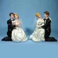 Quality Polyresin Craft, Suitable for Wedding Gifts, Holiday Gifts, Valentines Gifts, and Promotional Gifts for sale