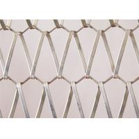 Quality Metal Link Decorative Wire Mesh Panels Spiral Decorative Net For Curtain for sale