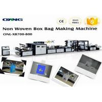 China Fully Automatic Non Woven Bag Making Machine , Bag Forming Machine on sale
