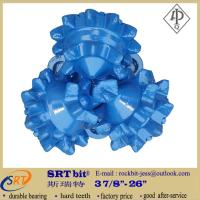 Buy API standard big steel tooth tricone rock bits for 300 meters water drilling at wholesale prices