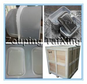 white lacquered aluminium foil material