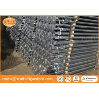 China Scaffolding steel supporting shoring prop Spanish light duty steel prop with painted 1.6-3.0M for template on sale