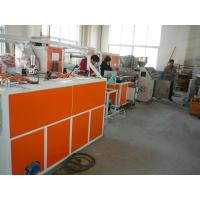 Quality pe pp pvc pa single wall corrugated hose making machine extrusion line production for sale for sale