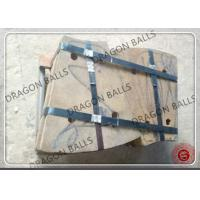 Quality High Mangnese Steel Rod Mill Liners Custom Dimension Abrasion Resistant for sale