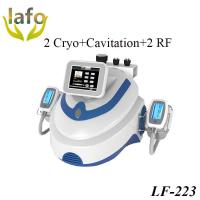 Quality LF-223 Portable Dual Handles Cavitation RF Ice Therapy Machine/ Cryotherapy Slimming Equipment for sale
