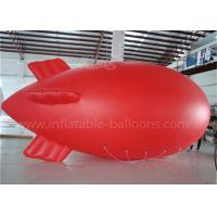 Red Inflatable Remote Controlled Blimp Outdoor Zepplin Big Helium Balloons
