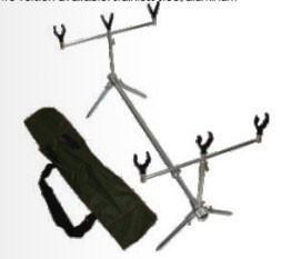 Quality Aluminum frame OEM Carp Fishing Rod Pod Apply to wild fishing for sale