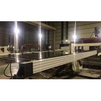 Quality Acrylic Plastic Sheet Extrusion Machine Rigid Strong Structure Smooth Running for sale