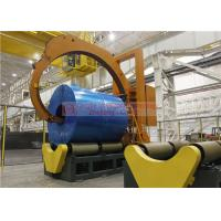 Buy cheap Super Wide Steel Coil Wrapping Machine , Easy Operation Automatic Wrapping from wholesalers