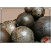 Quality Mining / Cement Cast Iron Grinding Balls  90mm Diameter Abrasion Resistant for sale