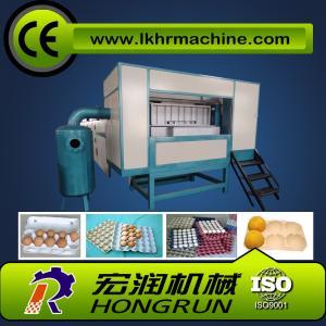 China 1000pcs/hr Semi-Automatic  egg tray making machine on sale