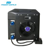 Quality High quality 4.9kw portable air source portable small hiding solar fencing around pool heater and pump for sale